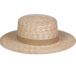 Lack of Color Spencer Fawn Boater Hat S